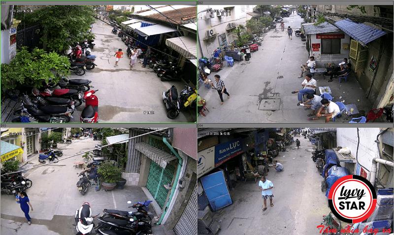 Giải pháp camera an ninh chất lượng cho khu phố