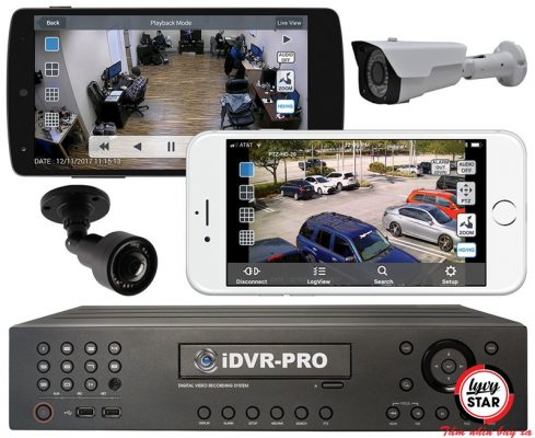Hệ thống camera an ninh theo dõi từ xa