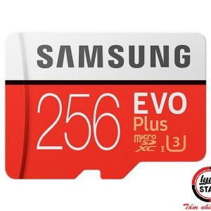 MicroSD Samsung Evo plus - 256GB